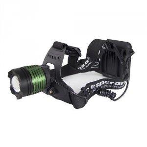 Latarka czołowa LED Esperanza Cree T6 Hydra