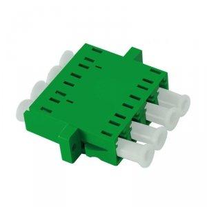 Adapter światłowodowy Qoltec LC/APC quad SingleMode