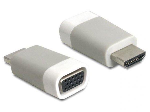 Adapter Delock HDMI-A (M) -> VGA (F)