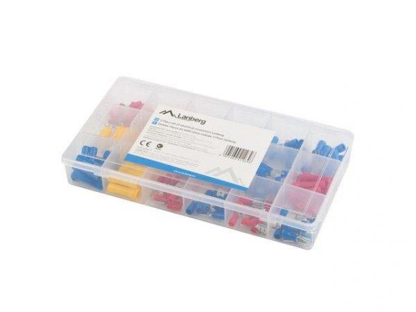 Zestaw złączy do kabli Lanberg różne rodzaje 175 sztuk w pudełku