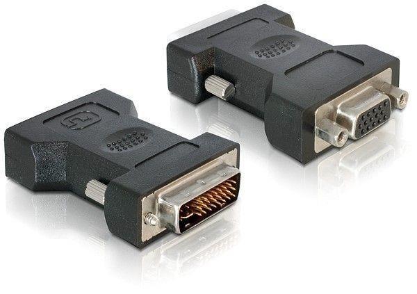 Adapter Delock DVI-I(M)(24+5) Dual link->VGA(15F)