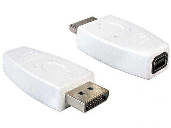 Adapter Delock DisplayPort (M) - mini DisplayPort (F)