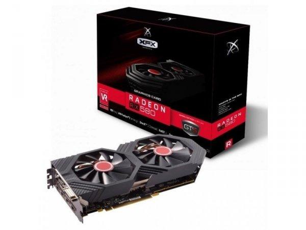 Karta VGA XFX RX 580 GTS XXX Edition 8GB GDDR5 256bit DVI+HDMI+3xDP PCIe3.0