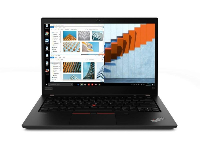 "Notebook Lenovo ThinkPad T14 G1 14""FHD/i5-10210U/8GB/SSD256GB/UHD/10PR Black"