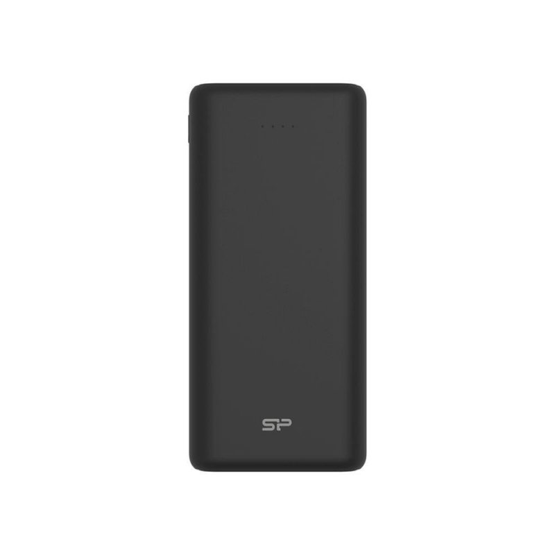 Powerbank Silicon Power Share C20QC 20000mAh 2xUSB Typ A + 1x USB Typ-C, LED czarny