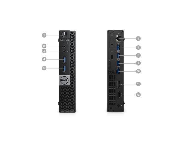 DELL KOMPUTER OPTIPLEX 7040 MICRO i5-6500T 8GB SSD_120GB WIN10 - Poleasingowy