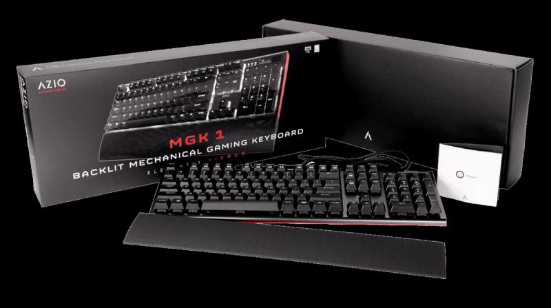 AZIO MGK1 klawiatura mechaniczna dla graczy