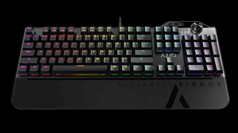 AZIO MGK L80 RGB - mechaniczna klawiatura dla graczy