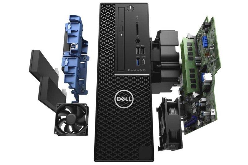 DELL Precision 3430 SFF i5/16GB/SSD480GB+500GB/W10P/QuadroP400 - Poleasingowy