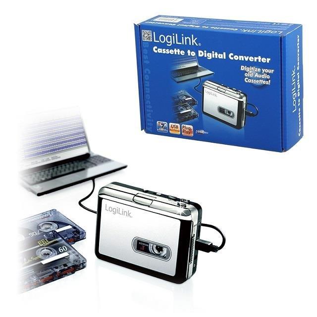 Konwerter nagrań kasetowych na cyfrowe LogiLink UA0156