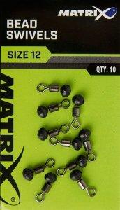 Matrix Krętliki Bead Swivels size 12 GAC376