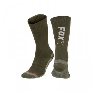 Fox Collection Socks 44-47 Green/Silver CFW119