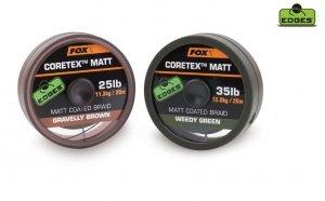 CAC430 FOX EDGES™ CORETEX™ MATT WEENDY GREEN 20lb