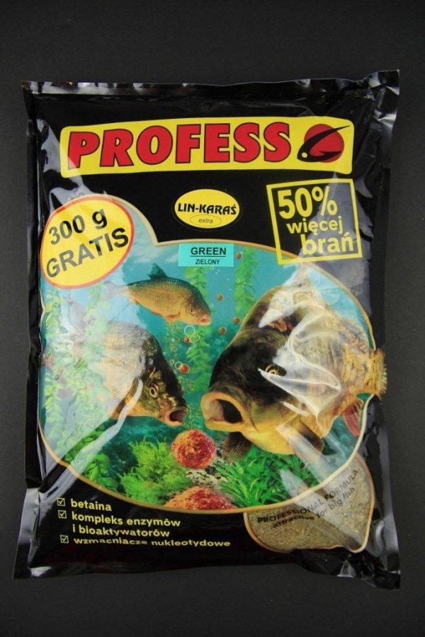 Zanęta EXTRA LIN–KARAŚ zielony 2 kg