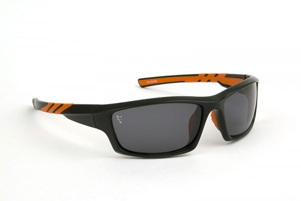 CSN039 OKULARY Fox Sunglasses Black & Orange