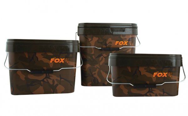 Wiadro 17l FOX Camo Square Buckets