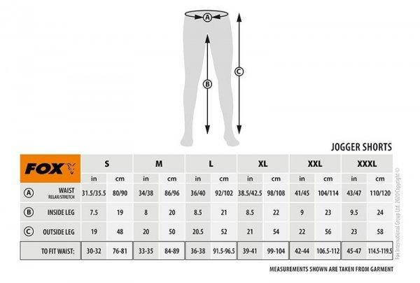 Fox Spodenki CAMO JOGGER SHORTS XL CFX100
