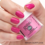 Puder do manicure tytanowy - GELISH DIP - Amour Color Please 23 g - (1610173)