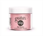GELISH DIP Puder do manicure tytanowego kolor Pink Smoothie 23g (1610857)