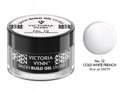 No.12  żel budujący 50ml Victoria Vynn Cold White French