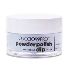 Cuccio manicure tytanowy -PUDER 5581 PEPPERMINT PASTEL BLUE 5581