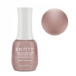 Lakier hybrydowy 15ml Entity Luxe La Femme Collection - Pretty Paillettes