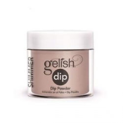 Puder do manicure tytanowy - Gelish Dip - Perfect Match 23 g - (1610018)