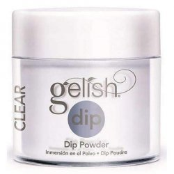 Puder do manicure tytanowy - GELISH DIP - Clear As Day - przezroczysty - 23g (1610997)