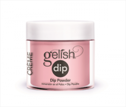 GELISH DIP Puder do manicure tytanowego kolor Pink Smoothie 23g (1610857)