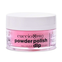 Cuccio manicure tytanowy - 5540 DIP SYSTEM PUDER Bubble Gum Pink 15 G