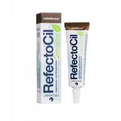 Henna RefectoCil Sensitive Eyelash & Eyebrow Tint 15ml - Medium Brown