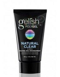 Gelish POLYGEL żel Natural Clear (przezroczysty) 60g - flexi żel