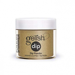 Puder do manicure tytanowego - GELISH DIP - give me gold 23g (1610075)