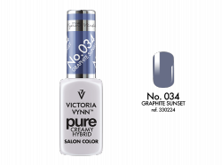 034 Graphite Sunset - kremowy lakier hybrydowy Victoria Vynn PURE (8ml)