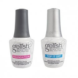 Gelish Base i Top - baza i top do hybrydy (2x15ml) -Gelish Duo