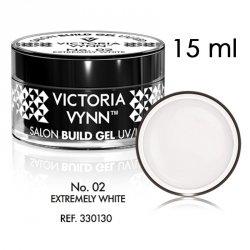 No.02 Biały żel budujący 15ml Victoria Vynn White