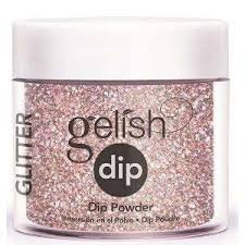 Puder do manicure tytanowego - GELISH DIP - Sweet 16  23 g - (1610957)
