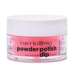 Cuccio manicure tytanowy - 5579 DIP SYTEM PUDER Cherry Red 14 G