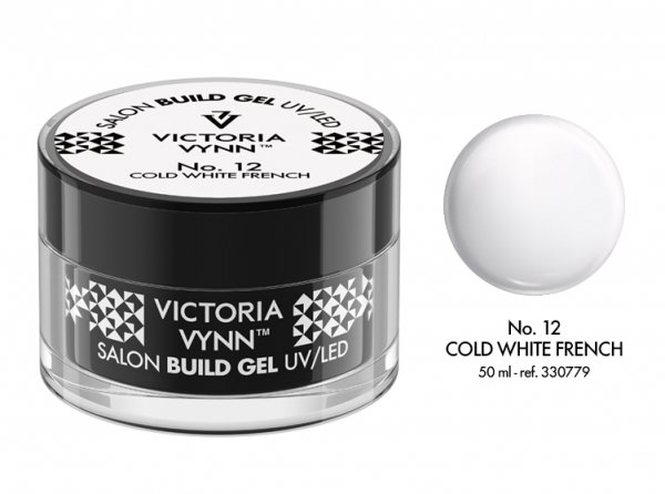 No.12  żel budujący 50ml Victoria Vynn Cold White French