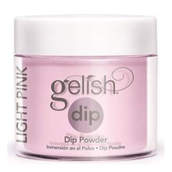 Puder do manicure tytanowy - GELISH DIP - Simple Sheer 23 g - (1610812) - Idealny do FRENCH'a