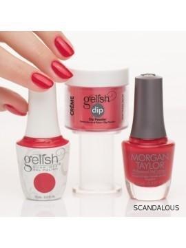 Scandalous 15 ml (1110144) - kremowy Gelish czerwony