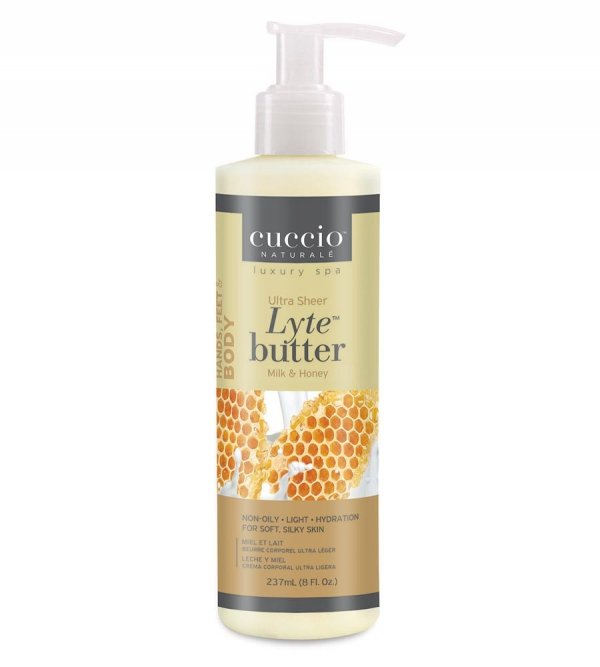Lekkie masło do skóry i dłoni - pięknie i delikatnie pachnie - Cuccio Naturale