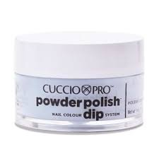 Cuccio manicure tytanowy -PUDER 5581 PEPPERMINT PASTEL BLUE 5581