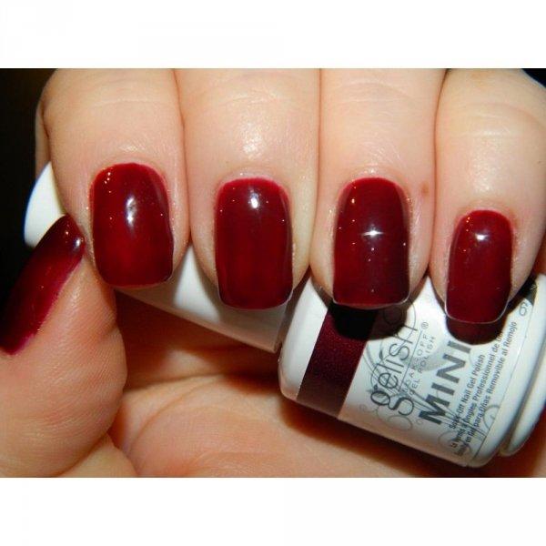 Lakier hybrydowy Gelish - A Touch of Sass 15 ml (1110185) - kremowy