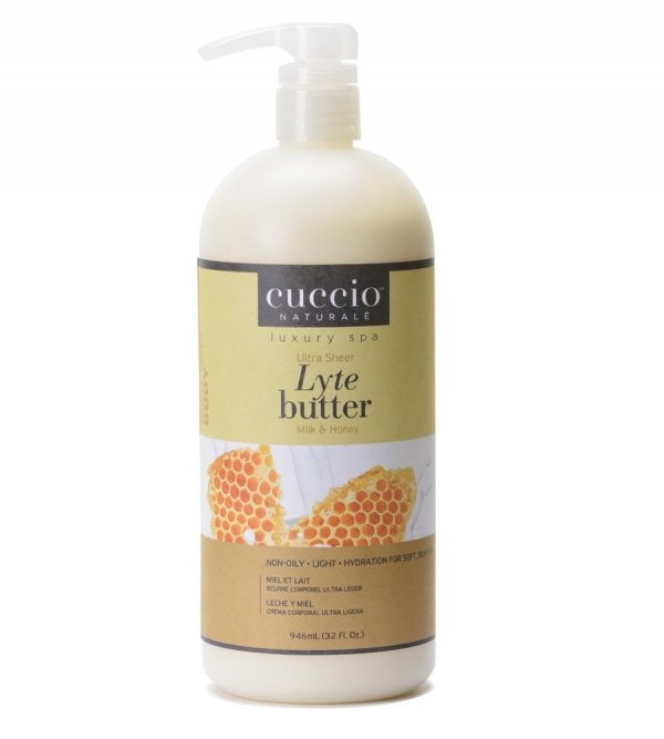 Lekkie masło do ciała Mleko Sojowe i Miód Cuccio Naturale 946 ml
