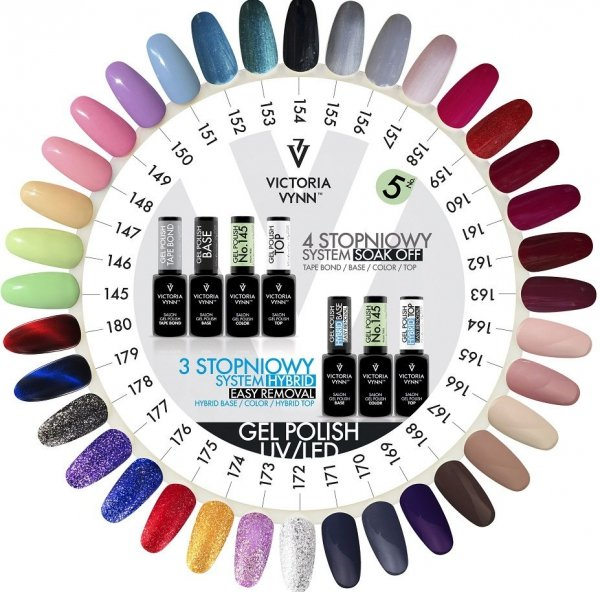 169 Royal Purple Lakier Hybrydowy Victoria Vynn Gel Polish