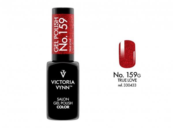 Victoria Vynn lakier hybrydowy piękna czerwień na święta 159