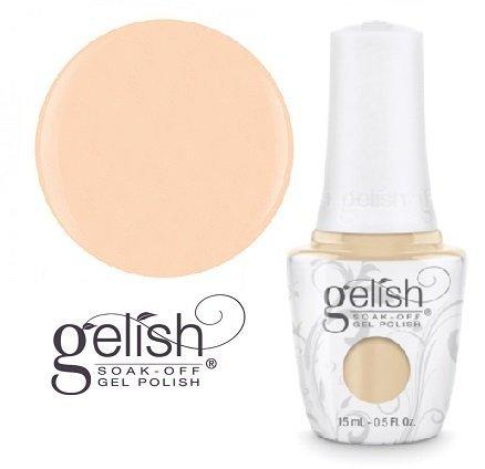 GELISH Lakier hybrydowy kolor: Need A Tan 15 ml (1110854) - kremowy beżowy