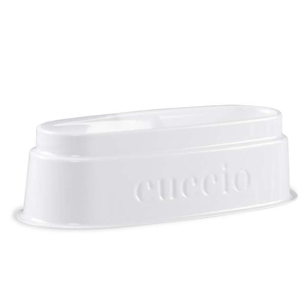 Cuccio manicure tytanowy -  wanienka do osypywania pudrem plastikowa