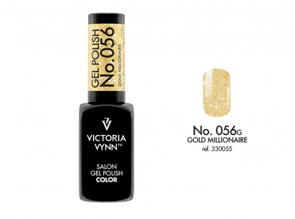 056 Gold Millionaire Lakier Hybrydowy Victoria Vynn Gel Polish